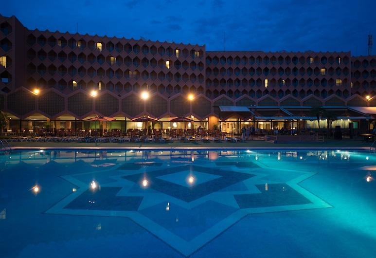 Hotel Atlas Asni, Marrakech, Jardín