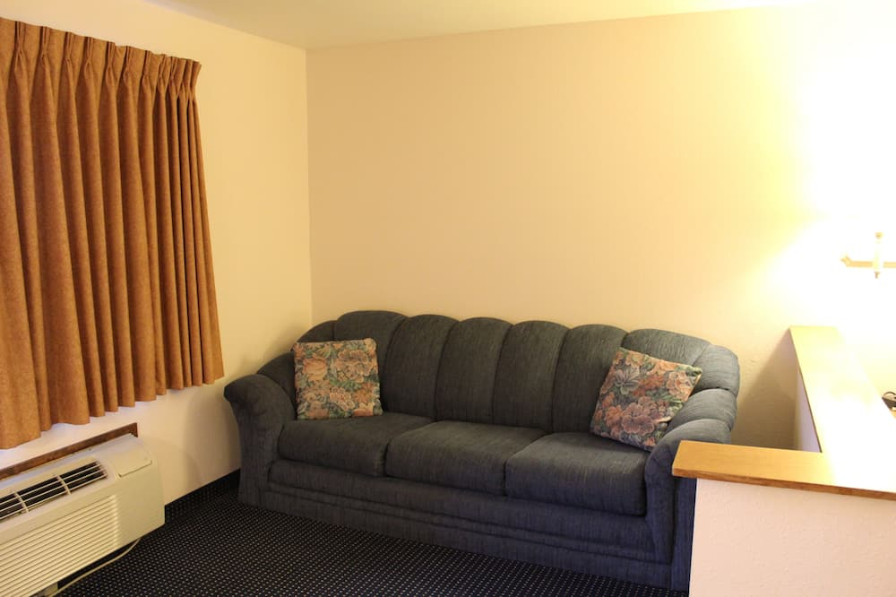 Suite, 1 Queen Bed, Accessible, Non Smoking - Living Area