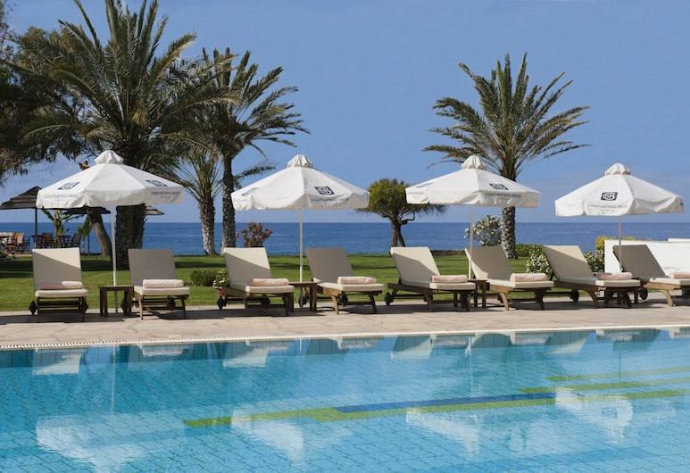 Constantinou Bros Athena Royal Beach Hotel, Paphos, Quarto Superior, Vista Mar, Vista do Quarto