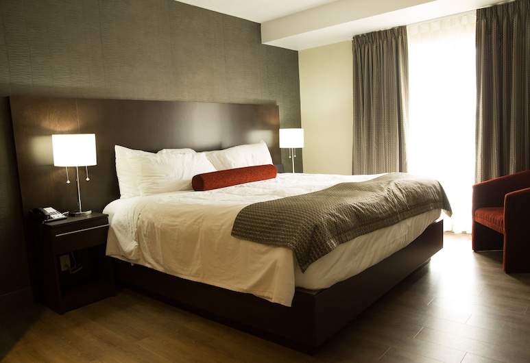 馬德里旅館, 密耳角, 套房, 1 張特大雙人床和 1 張沙發床, 客房