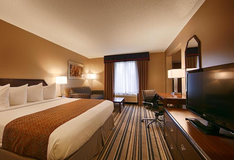 Best Western Harrisburg Hershey Hotel, Harrisburg, Standard-huone, 2 keskisuurta parisänkyä, Tupakointi kielletty, Jääkaappi ja mikroaaltouuni, Vierashuone
