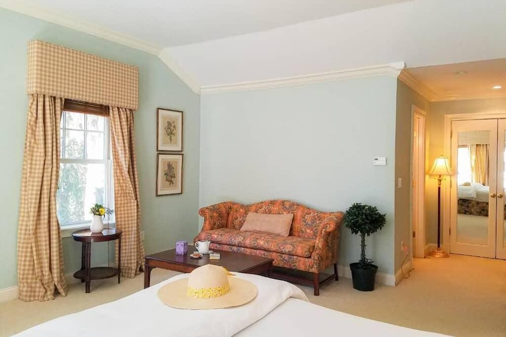 Luxury Oda, 1 Yatak Odası, Sigara İçilmez (Room 324) - Oturma Alanı
