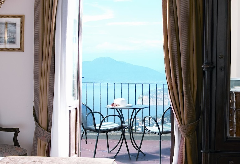 Hotel Jaccarino, Massa Lubrense, Comfort-Dreibettzimmer, Meerblick, Ausblick vom Zimmer