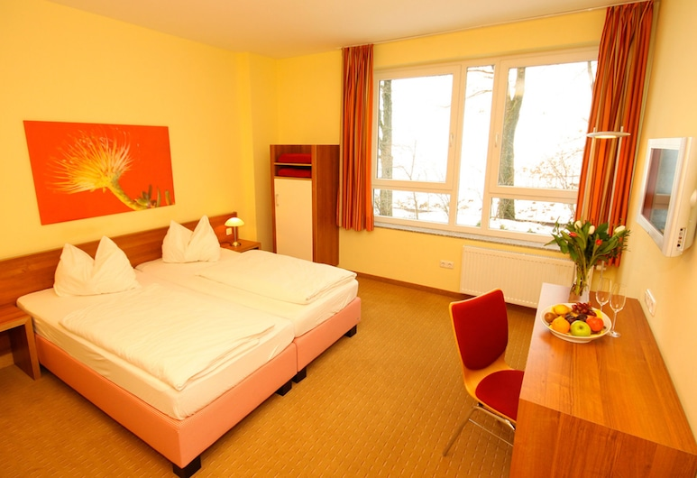 Smart Motel, Kempten, Comfort tweepersoonskamer, Kamer