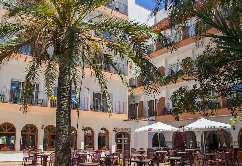 Hotel Comarruga Platja, El Vendrell, Teras/Veranda