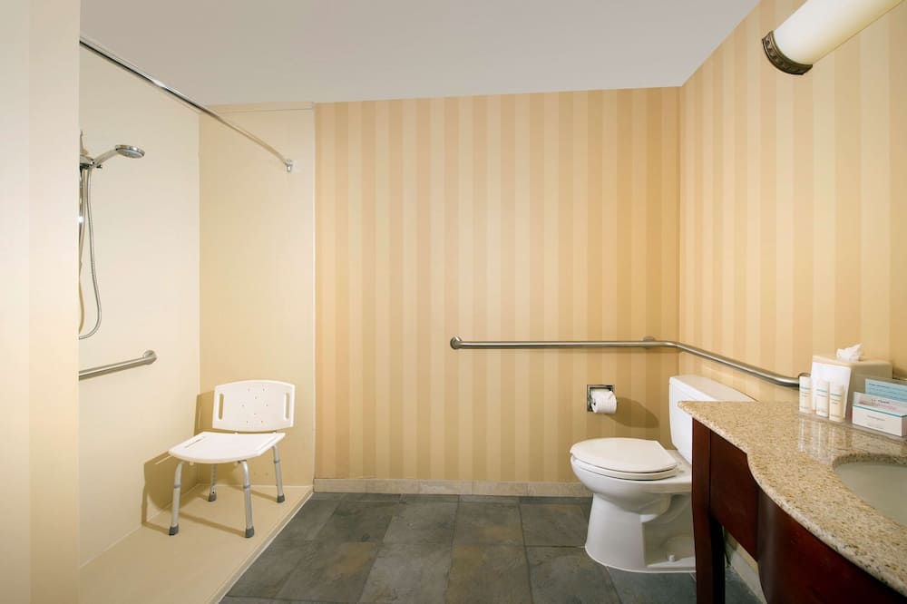 Suite, Accessible, Non Smoking (Roll-in Shower) - Bathroom