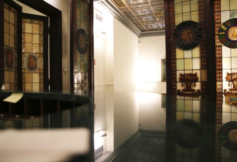 Hotel Accademia, Firenze, Vastuvõtuala