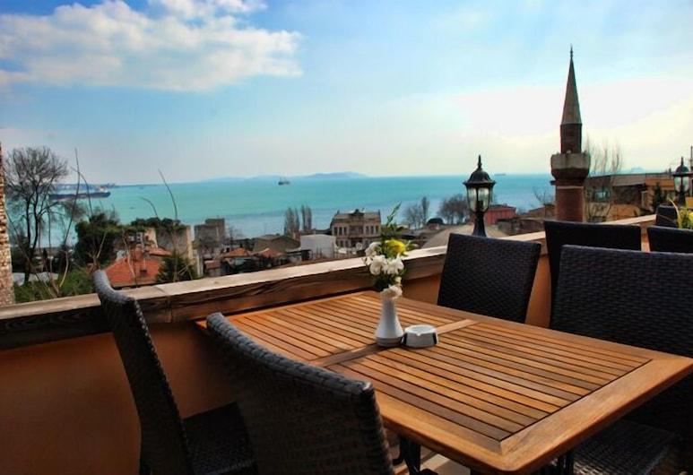 Megara Palace Old-City, Istanbul, Terrasse/veranda