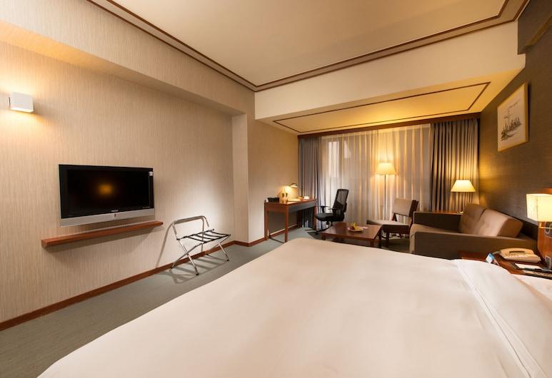 Forte Hotel Hsinchu, Hsinchu, Deluxe Double Room, 1 Katil Raja (King), City View, Bilik Tamu