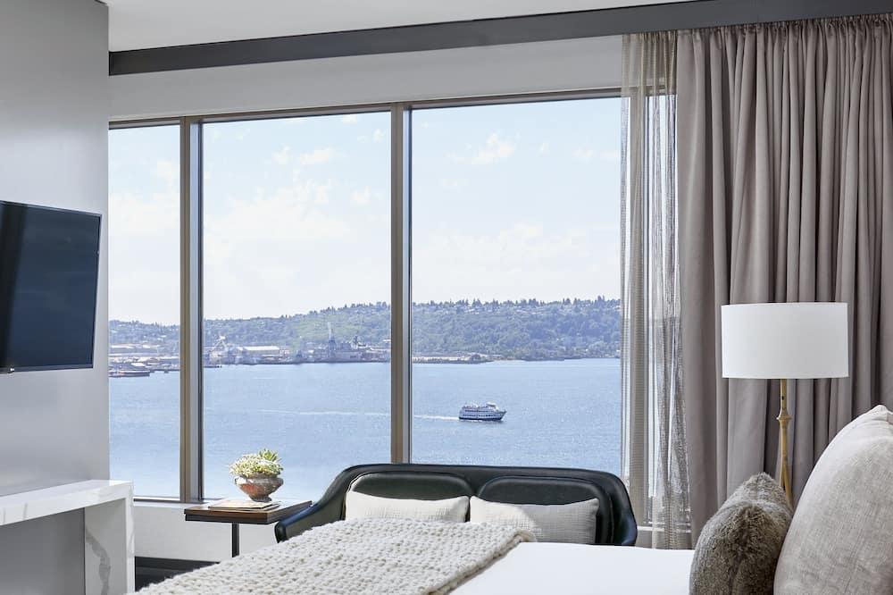 Apartmán typu Grand, 1 extra veľké dvojlôžko - Výhľad z hosťovskej izby