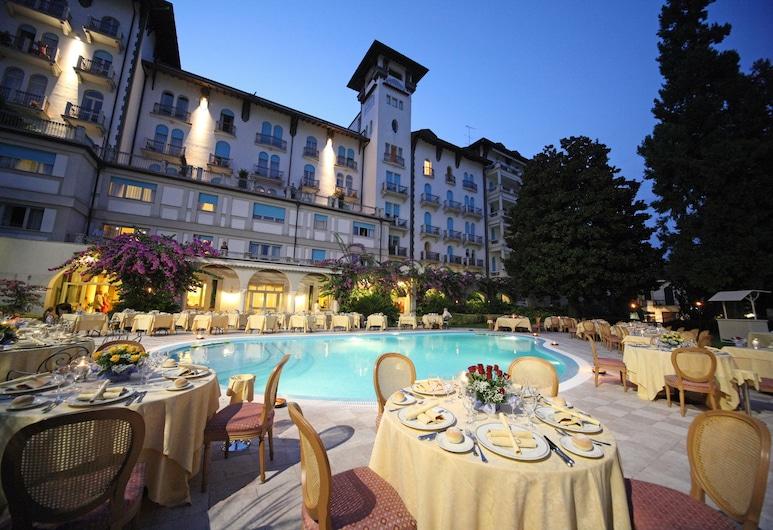 Hotel Savoy Palace, Gardone Riviera, Khu ẩm thực ngoài trời