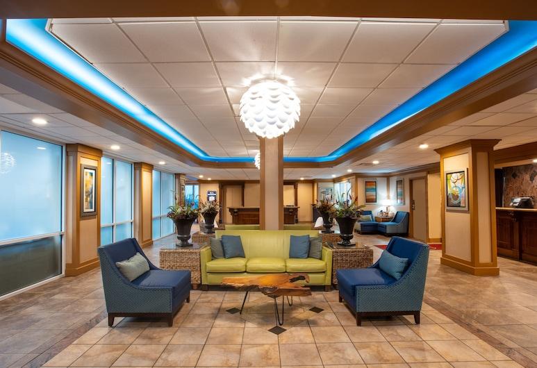 Westgate Myrtle Beach Oceanfront Resort, Myrtle Beach, Zona con asientos del vestíbulo