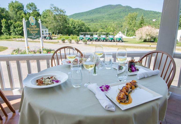 老鷹山高爾夫俱樂部酒店, 傑克遜, 室外用餐