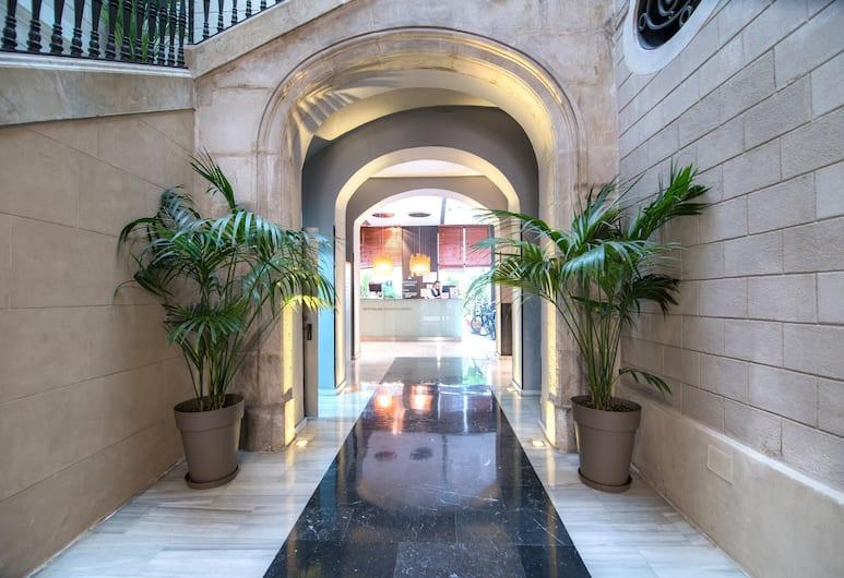 Petit Palace Boquería Garden, Барселона, Интерьер отеля