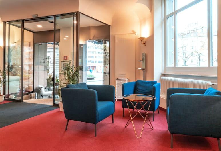 Hotel St. Georges, Zürich, Lobby Sitting Area