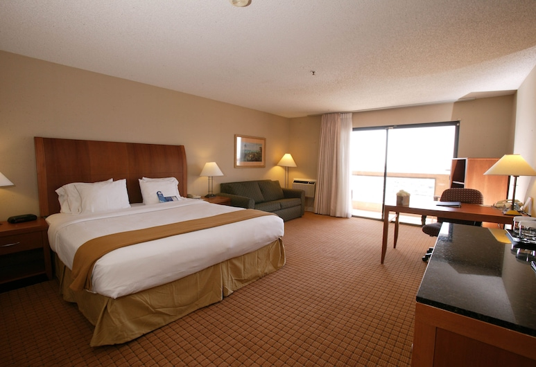 Holiday Inn Express Hotel & Suites Ventura, Ventura, Room, 1 Queen Bed, Marina View, Guest Room