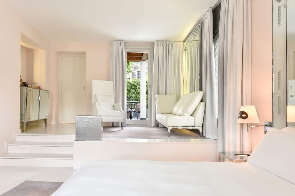 Apartament typu Junior Suite, taras - Pokój