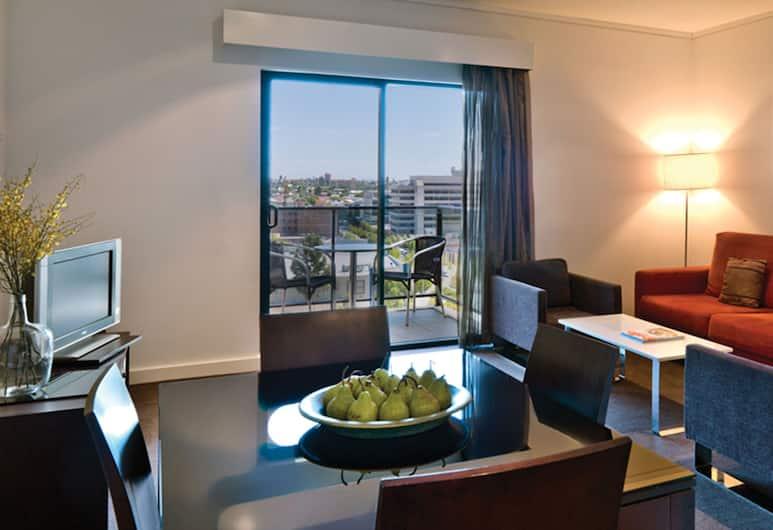 Adina Apartment Hotel Perth - Barrack Plaza, Perth, Standard Apartment, 1 Bedroom, Living Room