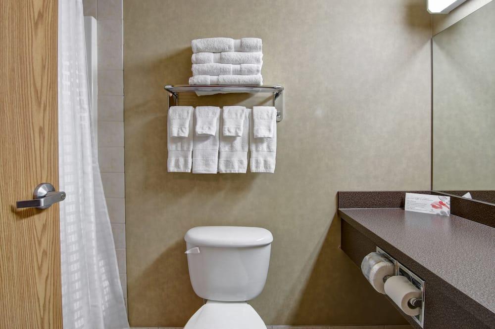 Suite, 1 queen size krevet, za nepušače - Kupaonica