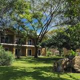 Chambre Supérieure, 1 très grand lit, vue jardin - Vue sur le jardin