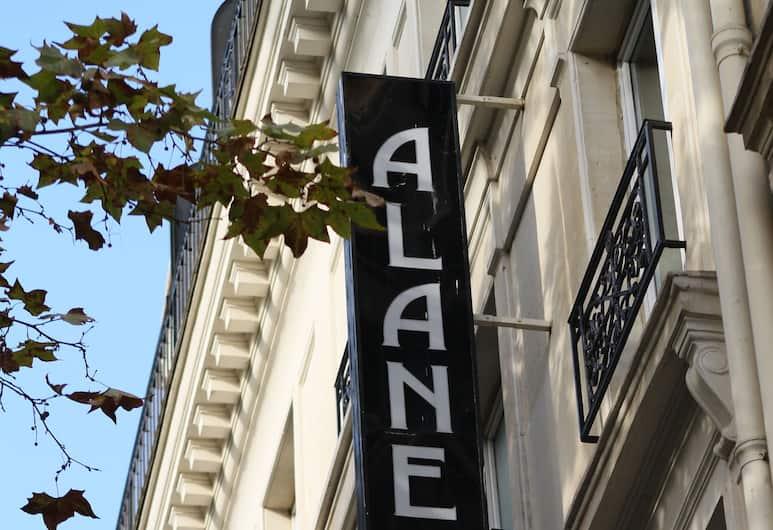 호텔 알란, 파리, 외부