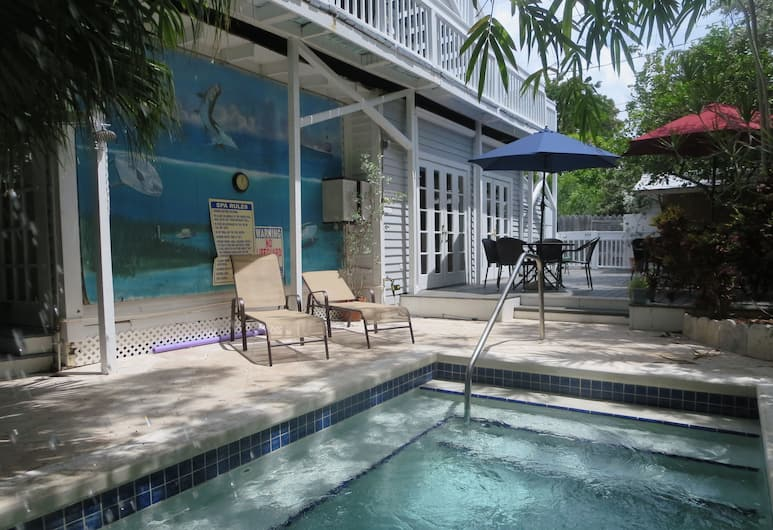 The Inn on Fleming, Key West, Outdoor Spa Tub