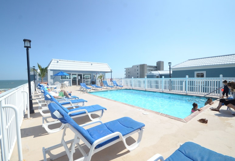 Tidelands Caribbean Hotel and Suites, Ocean City, Rooftop Pool