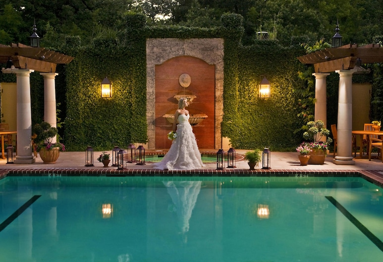 Hotel Granduca Houston, Houston, Piscina externa