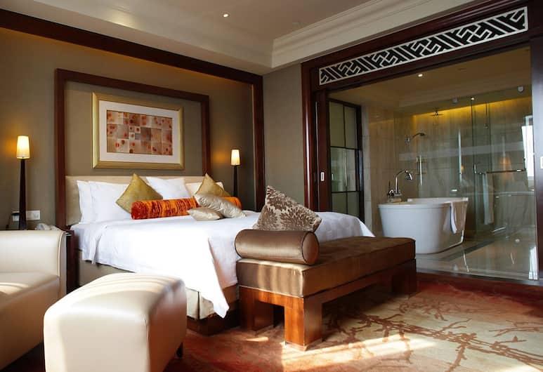 Crowne Plaza Shanghai Fudan, Shanghai, Suite, 1King-Bett, Nichtraucher, Zimmer
