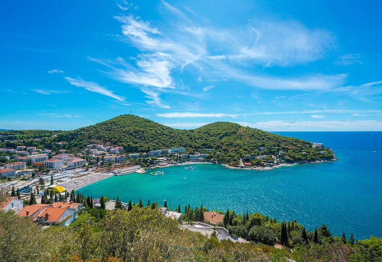 Hotel Komodor, Dubrovnik, Vista aérea