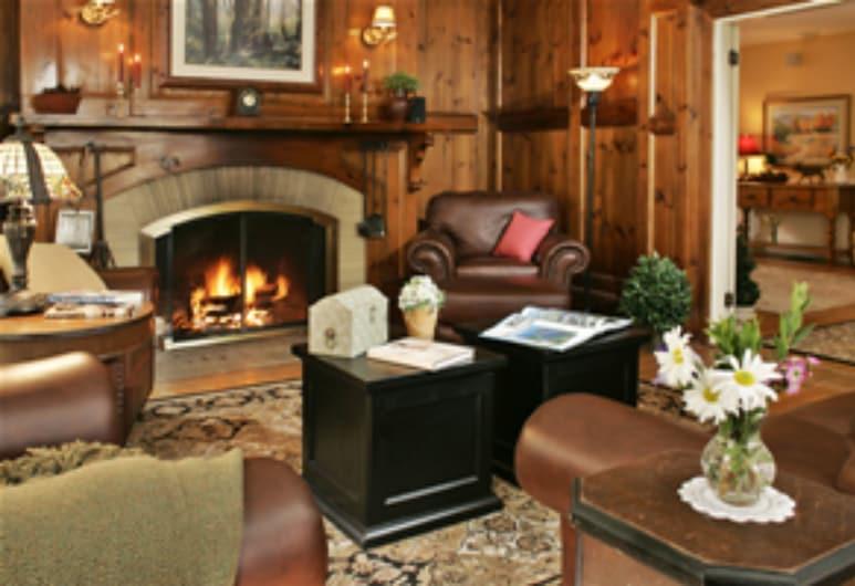 Inn at Jackson, Jackson, Camera doppia, bagno in camera (Mountain Lodge Room ), Lounge dell'hotel