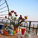 Romantické apartmá, 2 ložnice, propojené pokoje, orientovaný směrem k oceánu (Novecento) - Terasa restaurace