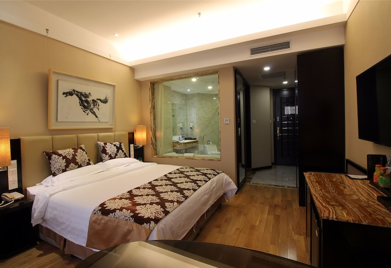 AC Embassy Hotel, Beijing, Business Double Room, City View, Living Room