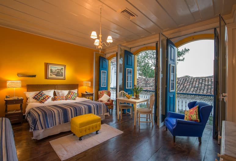 Pousada do Sandi, Paraty, Junior suite, Uitzicht op de stad, Kamer