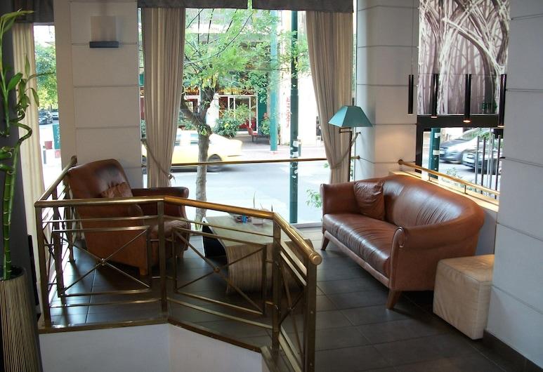 Minoa Hotel, Athén, Belső bejárat