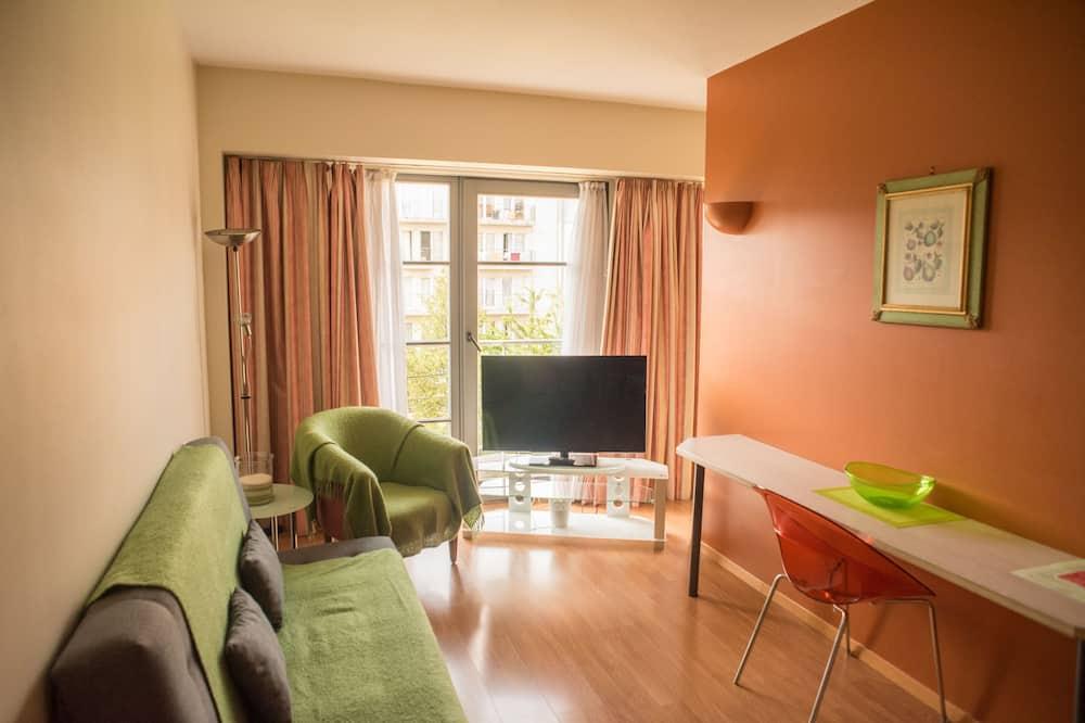 Studio Comfort, widok na ogród (35 m2) - Powierzchnia mieszkalna