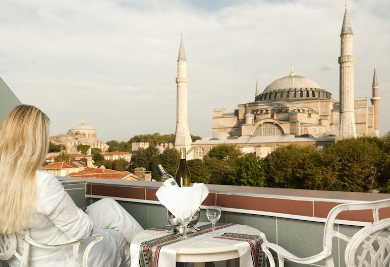The And Hotel Istanbul - Special Class, Istanbul, Dobbeltrom – panoramic, Balkong