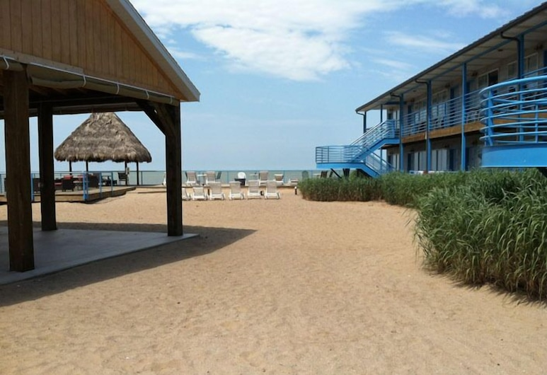 Beachfront Resort, Port Clinton, Plaża