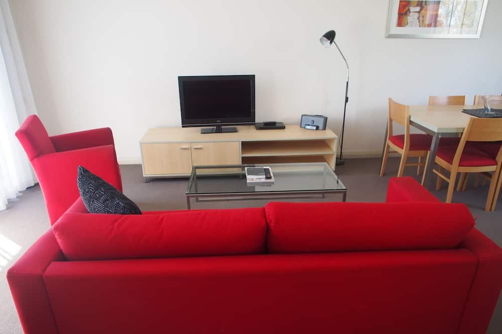 Lägenhet Standard - 2 sovrum - icke-rökare - kök (Extended Stay) - Vardagsrum