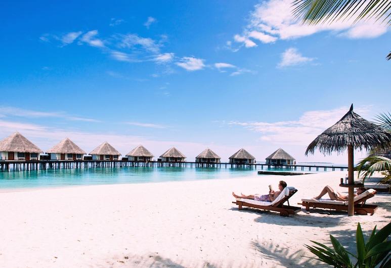 Adaaran Prestige Water Villas, Meedhupparu, Beach