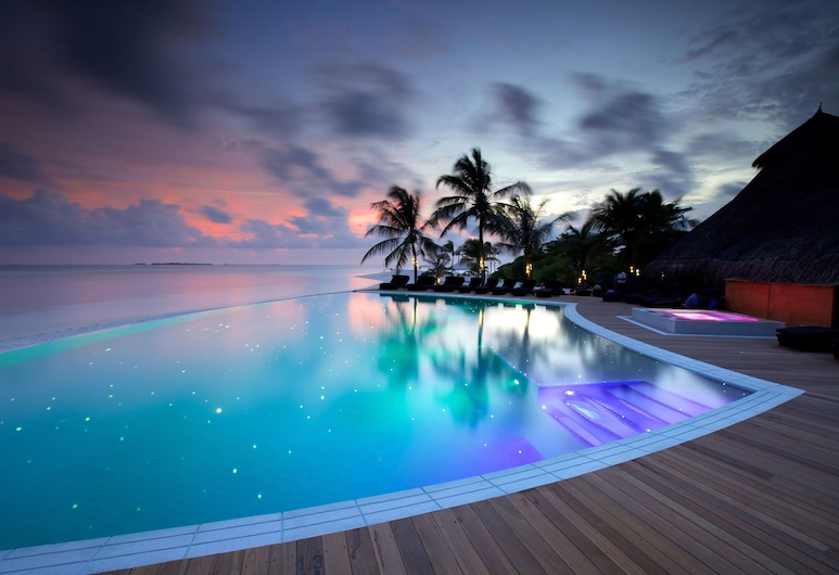 Kuredu Island Resort, Ostrov Kuredu, Vonkajší bazén