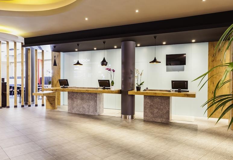 Hotel ibis Madrid Aeropuerto Barajas, Madrid, Reception
