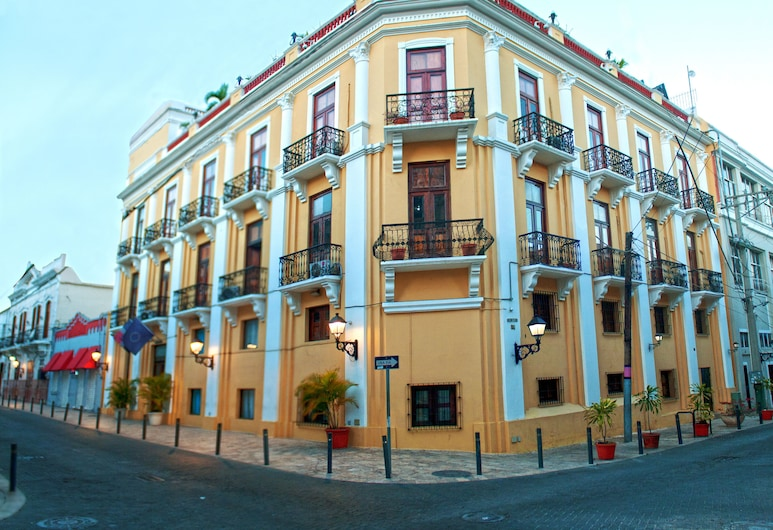 GRAN HOTEL EUROPA In the Heart of Colonial City, Santo Domingo, Hotellets facade