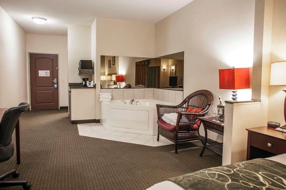 Suite, 1 kingsize-seng med sovesofa, handikappvennlig, ikke-røyk - Bad