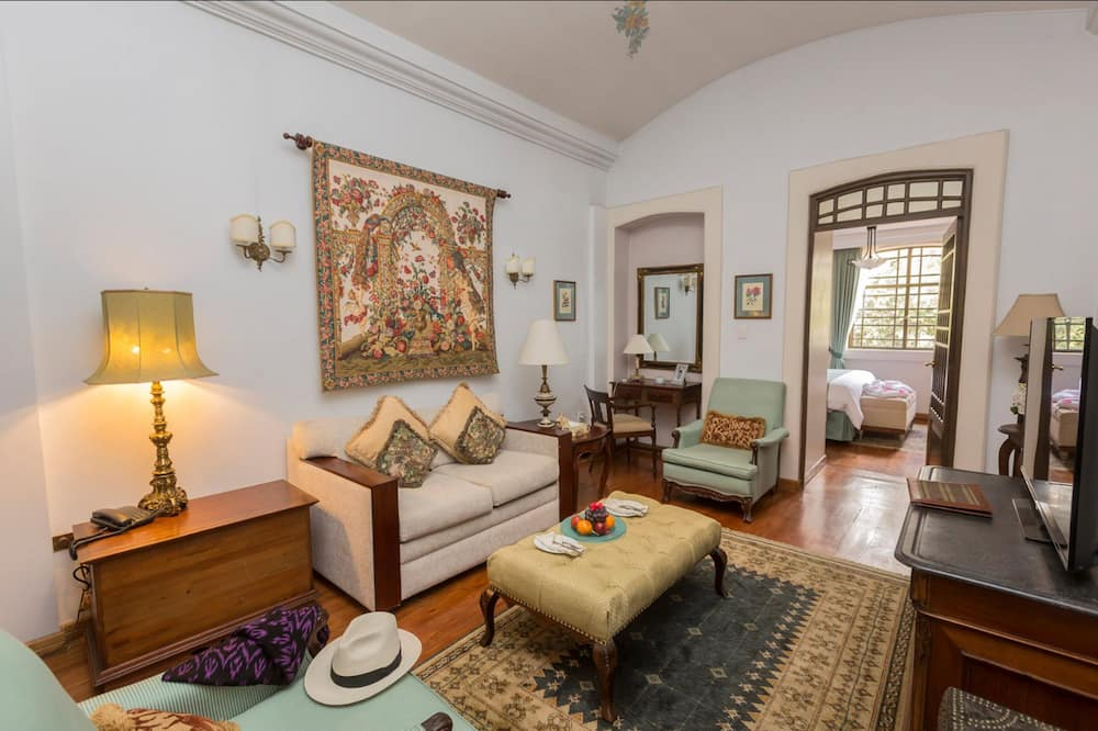 Phòng Suite truyền thống, 1 giường cỡ king - Khu phòng khách