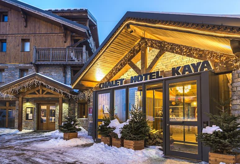 Hotel Kaya, Les Belleville, Porch