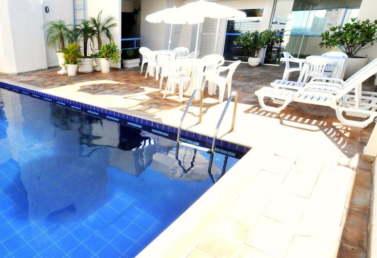 Crillon Palace Hotel, Londrina, Outdoor Pool