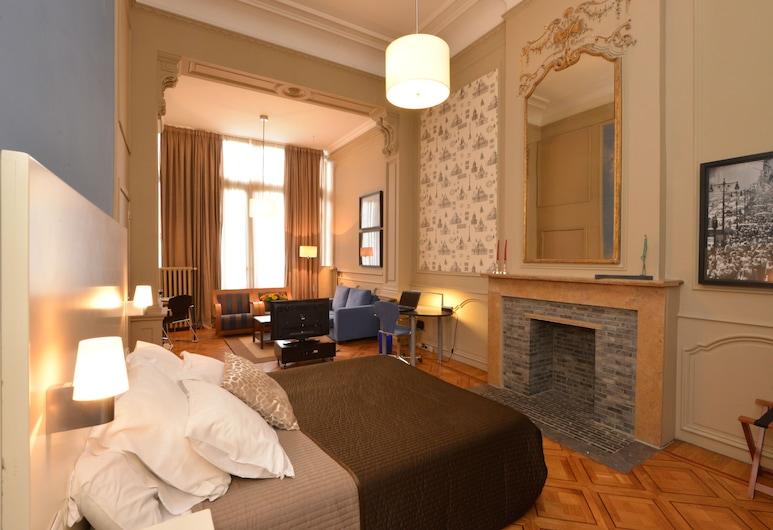 MAS Aparthotel EU, Bruxelles, Business-suite - tekøkken, Værelse