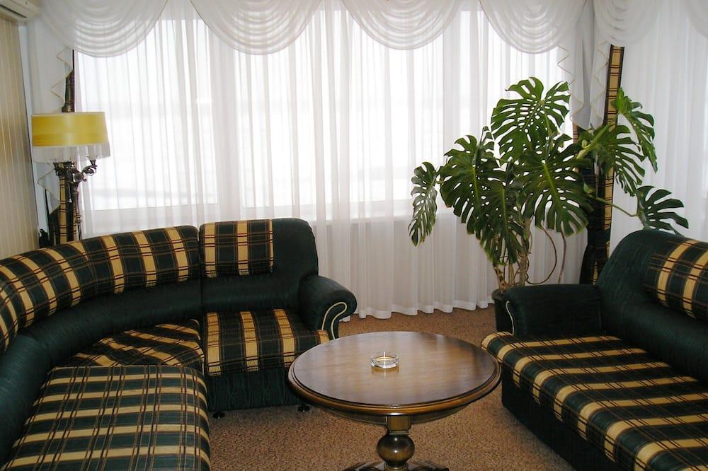 アパートメント キッチン - リビング ルーム