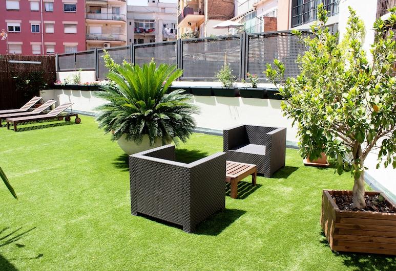 BCN Urbany Hotels Gran Ronda, Barcelone, Terrasse/Patio